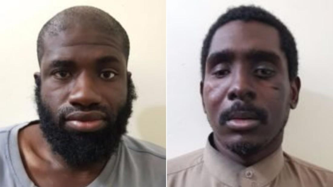 Left: Warren Christopher Clark, Right: Zaid Abed al-Hamed