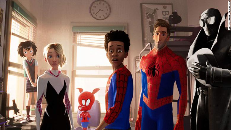 "Best animated feature film: ""Spider-Man: Into the Spider-Verse"""