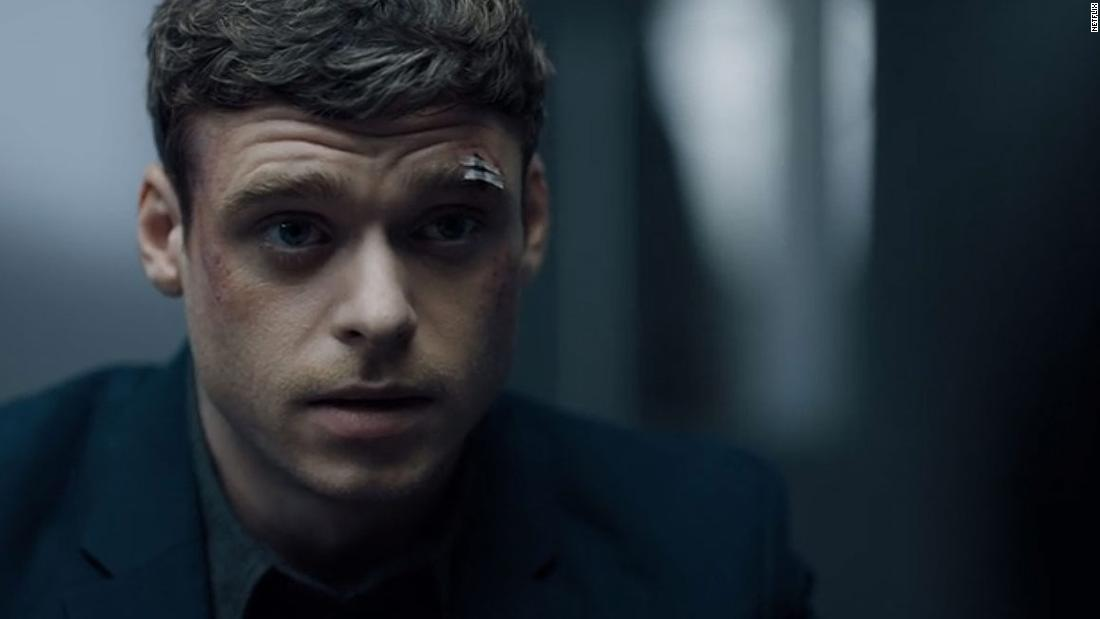 "<strong>Best actor in a television series -- drama: </strong>Richard Madden, ""Bodyguard"""