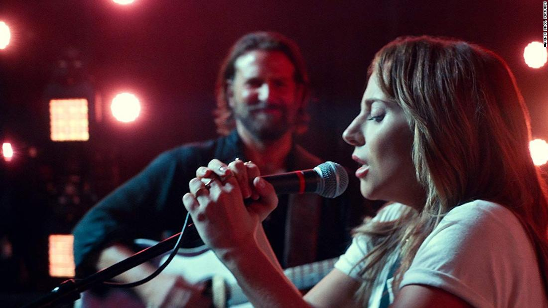 "<strong>Best original song:</strong> ""Shallow,"" performed by Lady Gaga and Bradley Cooper in ""A Star Is Born."" The song was written by Gaga, Mark Ronson, Anthony Rossomando and Andrew Wyatt."