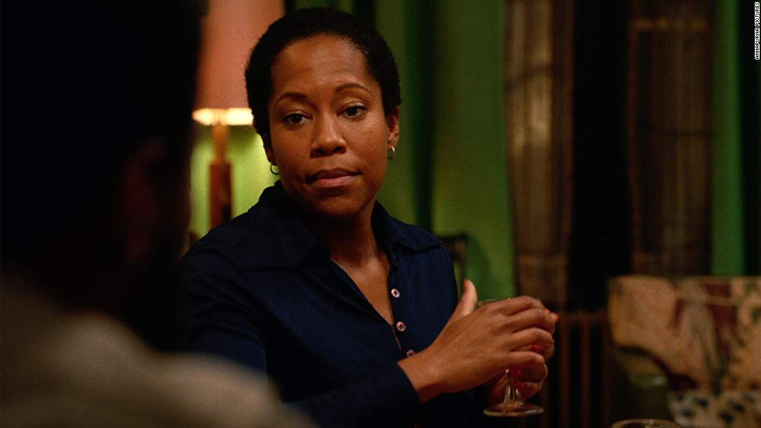 "<strong>Best supporting actress in a motion picture: </strong>Regina King, ""If Beale Street Could Talk"""