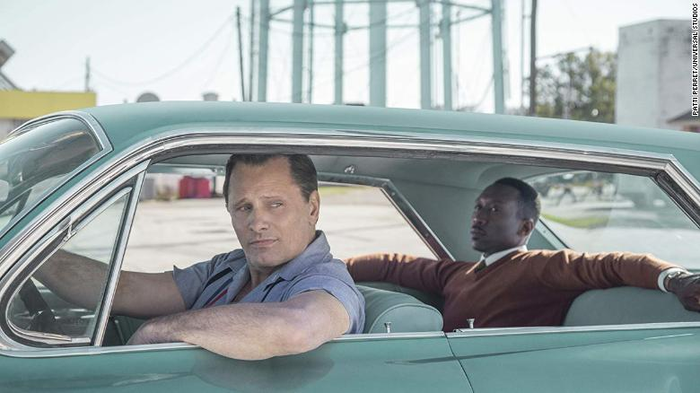 "Best screenplay: ""Green Book"" (Brian Hayes Currie, Peter Farrelly and Nick Vallelonga"