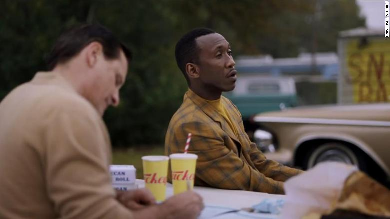 "Best supporting actor in a motion picture: Mahershala Ali, ""Green Book"""