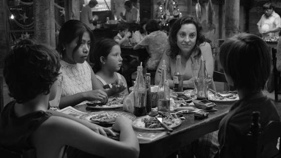 "Best cinematography: ""Roma"""