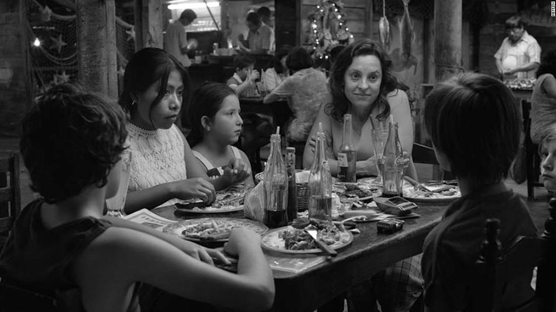 "<strong>Best foreign-language film: </strong>""Roma"" (Mexico)"