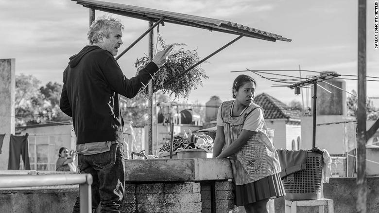 "Best director: Alfonso Cuaron, ""Roma"""