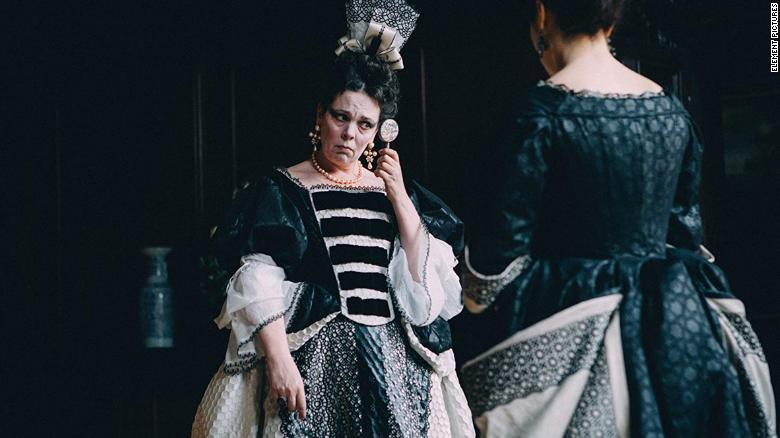 "Best actress in a motion picture -- musical or comedy: Olivia Colman, ""The Favourite"""