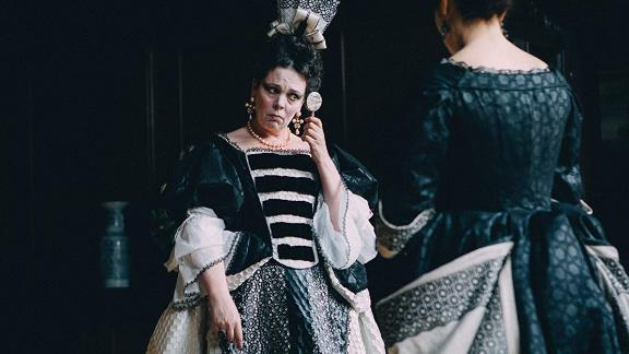 "Best actress: Olivia Colman, ""The Favourite"""
