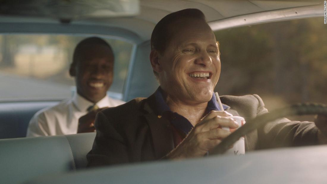 "<strong>Best motion picture -- musical or comedy:</strong> ""Green Book"""