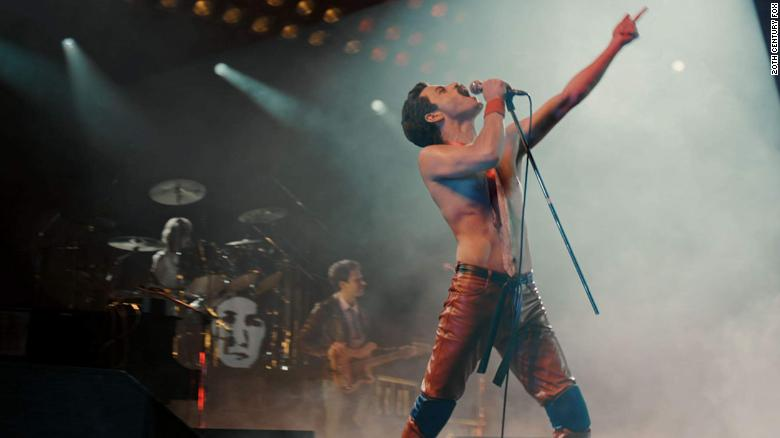 "Best actor in a motion picture -- drama: Rami Malek, ""Bohemian Rhapsody"""