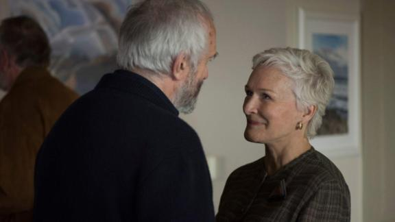"Best actress in a motion picture -- drama: Glenn Close, ""The Wife"""