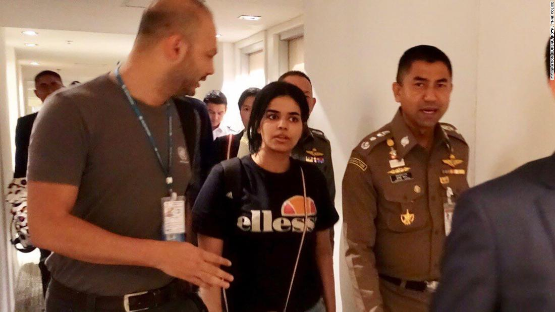 Saudi teen has been granted asylum in Australia, Thai officials say