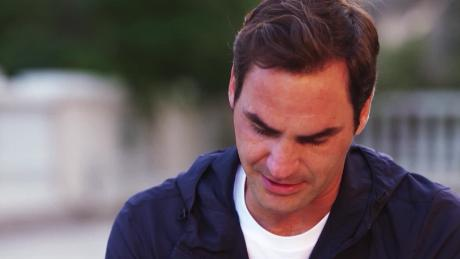 Tearful Roger Federer remembers late coach