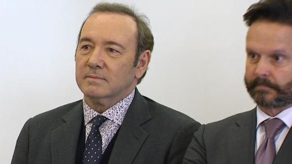 Kevin Spacey Doesn't Enter Plea in Court Appearance for Sex Assault Charge