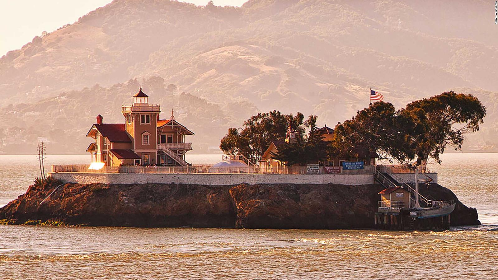 Be a lighthouse keeper at San Francisco Bay island and split