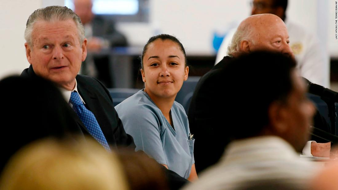 In first interview since prison release, Cyntoia Brown tells NBC she's honored to get a second chance at life