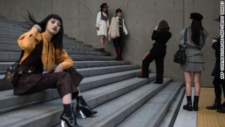 South Korean women report facing pressure to dress in certain ways, especially in the workplace.