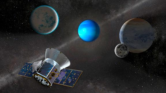 NASA's Transiting Exoplanet Survey Satellite launched in April and is already identifying exoplanets orbiting the brightest stars just outside our solar system. In the first three months since it began surveying the sky in July, it has found three exoplanets, with the promise of many more ahead.