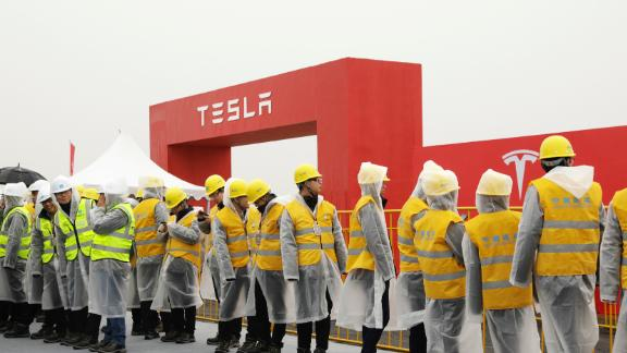 Tesla is aiming to start production at its Shanghai Gigafactory by the end of this year.