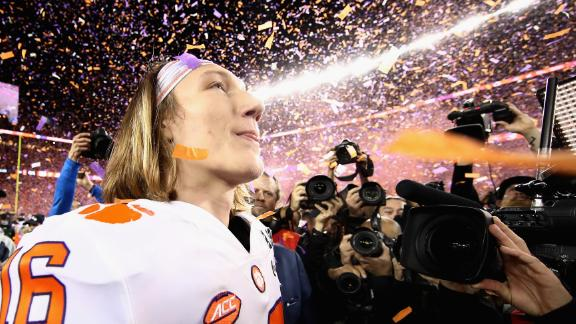 Trevor Lawrence is the second true freshman to win a national championship as a starting quarterback.