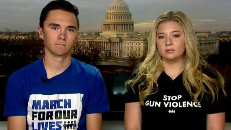 Parkland survivors push for change in gun laws