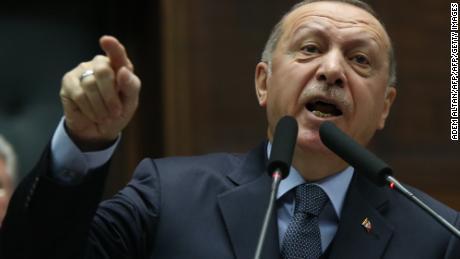 Turkey's Erdogan slams Bolton, as Trump position on Syria seems to shift