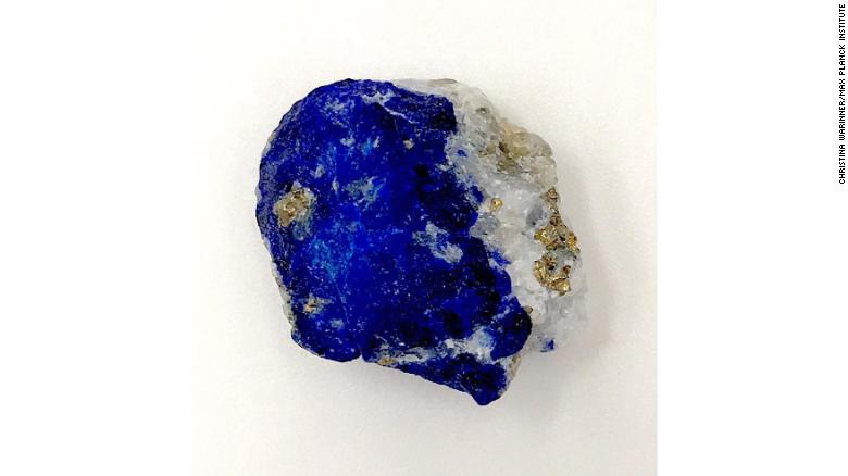 During the European Middle Ages, Afghanistan was the only known source of the rare blue stone lapis lazuli.