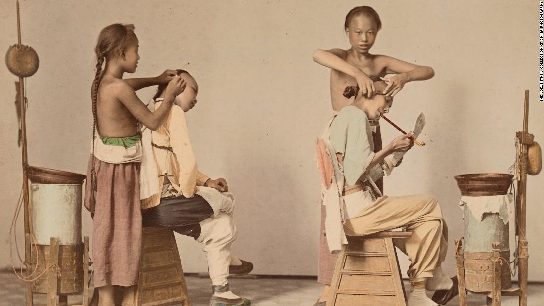 Rare photos reveal life in 19th-century China