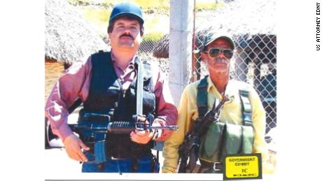 "Joaquin ""El Chapo"" Guzman is pictured on the left."