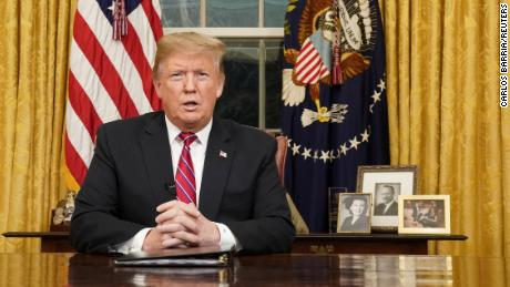 See Trump's national address from Oval Office