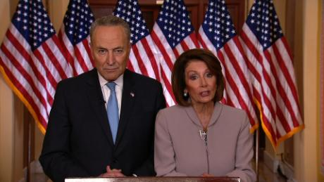 Democratic leaders respond to Trump's address