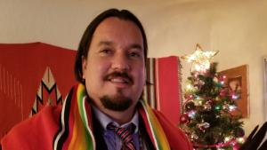 Dante Biss-Grayson Halleck is a veteran and current federal employee, who works as a safety officer for a federal hospital that serves tribal nations in New Mexico.