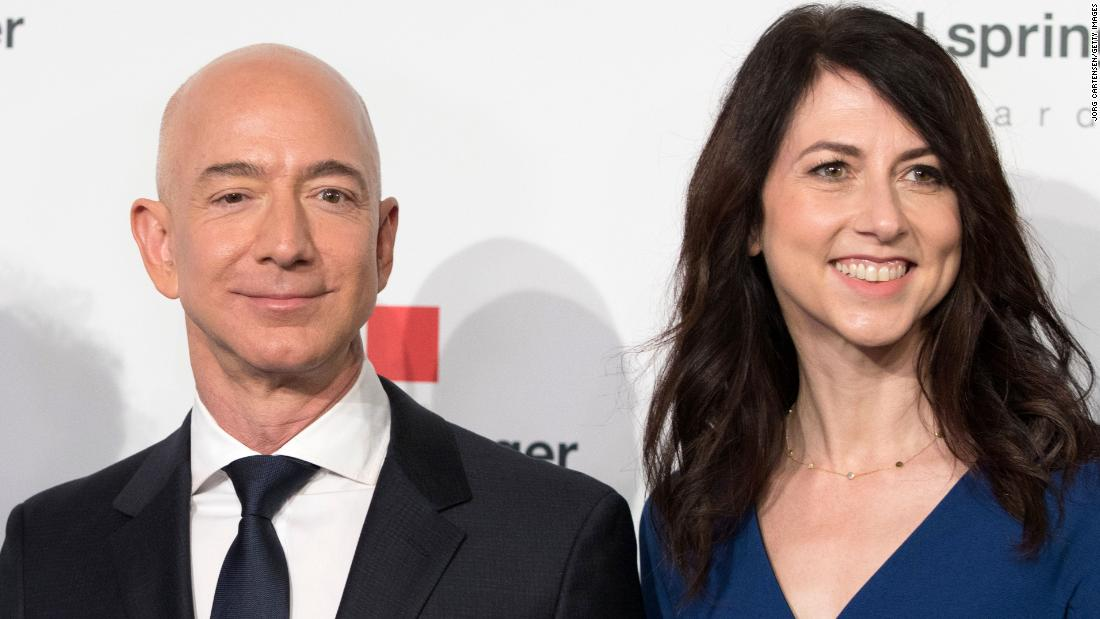 Jeff Bezos and wife to divorce after 25 years of marriage