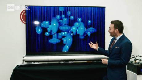 CES 2019: The TVs are massive, chatty and translucent - CNN
