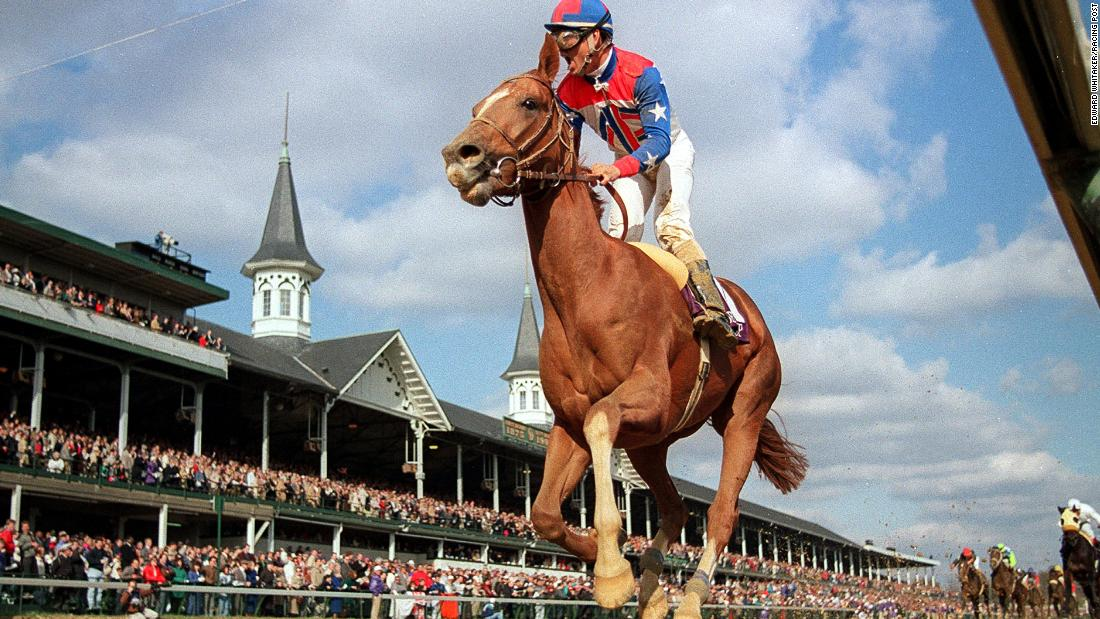 "Whitaker's image of French horse Arazi pulling off a stunning last-to-first victory in the 1991 Breeder's Cup at Churchill Downs made his name. ""He went through the field like it was 'National Velvet' or some ridiculous film like that. I got this image of jockey Pat Valenzuela screaming his head off against the spires of Churchill Downs. My lot were blown away, it was a big breakthrough."""