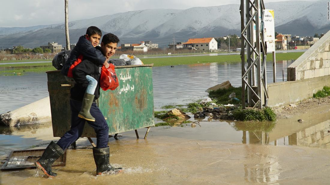 Syrian refugees hardest hit in 'worst storm' to hit Lebanon in years