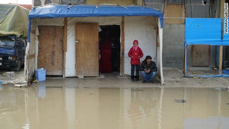 Severe flooding and near-freezing temps bring torment and death to Syrian refugee camps