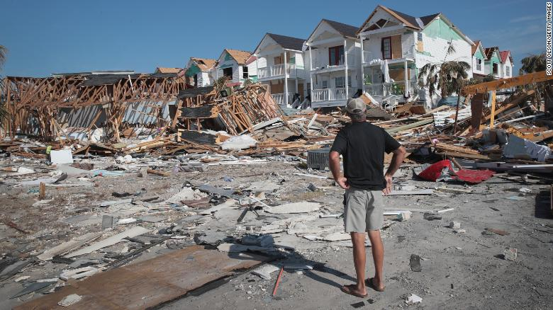 Hurricane Michael slammed into the Florida Panhandle in October.