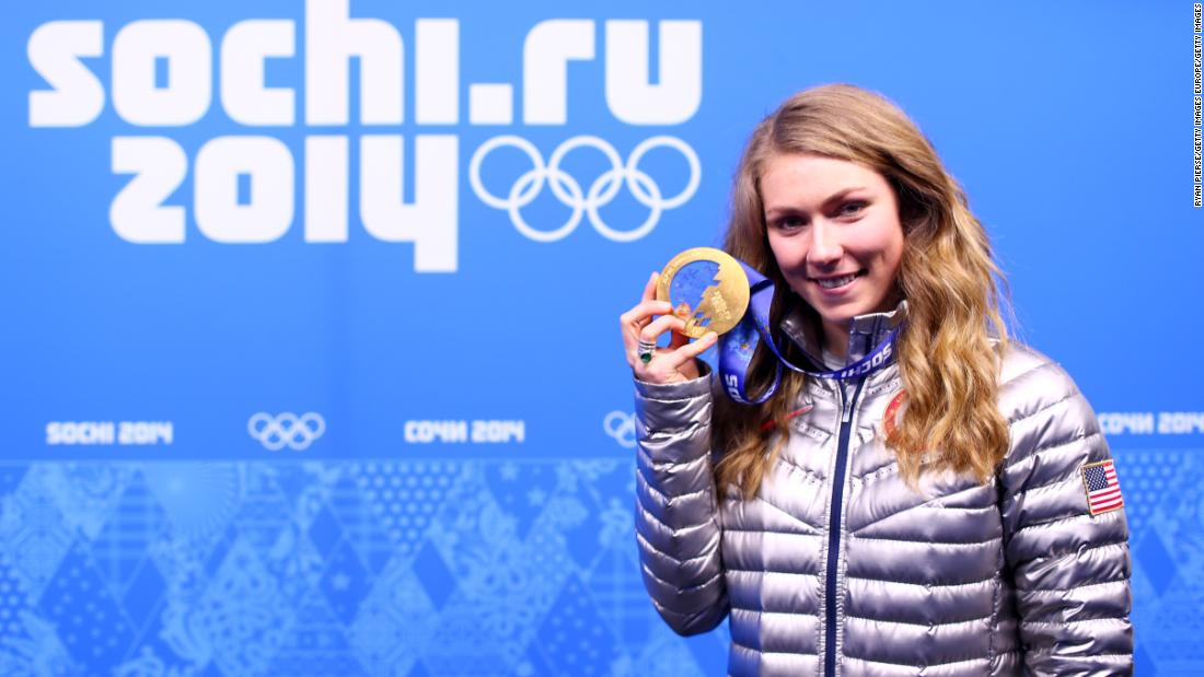 As world champion, the pressure was on the 18-year-old to perform at the 2014 Sochi Winter Olympics. She didn't disappoint. Shiffrin became the youngest ever Olympic slalom champion and the first American to win the title in 42 years.