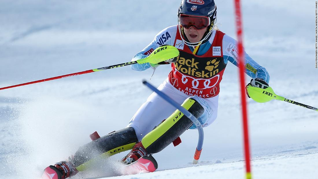 Following her Olympic success, the American won her third straight World Cup slalom crown in 2015. She also defended her slalom title at the 2015 World Championships.