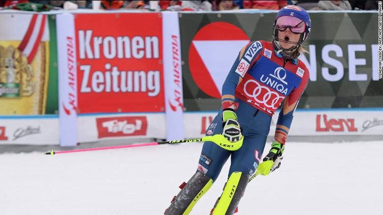 Shiffrin was back to her best in 2017, though, winning a fifth slalom World Cup title and adding a third World Championship gold. She also won her first overall World Cup title.
