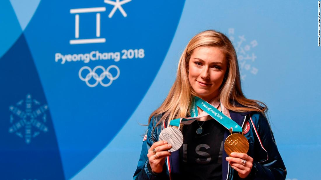 As her reputation grew, so did her popularity and all eyes were on Shiffrin to perform at the 2018 Winter Olympics. She was affected by the weather-hit schedule and despite winning gold in the giant slalom and silver in the combined she missed out completely in slalom. But she won the World Cup overall and slalom titles again at the end of the season to confirm her status as America's new superstar.