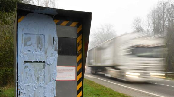 About 60% of speed cameras in France have been vandalized by yellow-vest protesters.