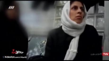 Η κρατική τηλεόραση του Ιράν έχει μεταδώσει ένα αόρατο βίντεο του Najanin Jagari-Ratcliffe