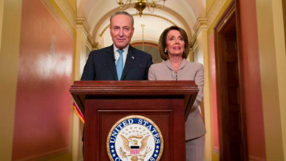 Senate Minority Leader Chuck Schumer and House Speaker Nancy Pelosi delivered a rebuttal after Trump