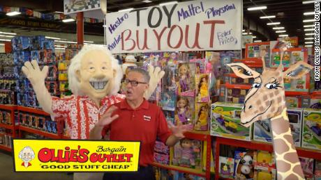 When Toys R Us went under last year, Ollie'