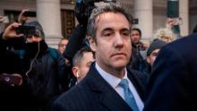 NEW YORK, NY - NOVEMBER 29: Michael Cohen, former personal attorney to President Donald Trump, exits federal court, November 29, 2018 in New York City. At the court hearing, Cohen pleaded guilty to making false statements to Congress about a Moscow real estate project Trump pursued during the 2016 presidential campaign. (Photo by Drew Angerer/Getty Images)