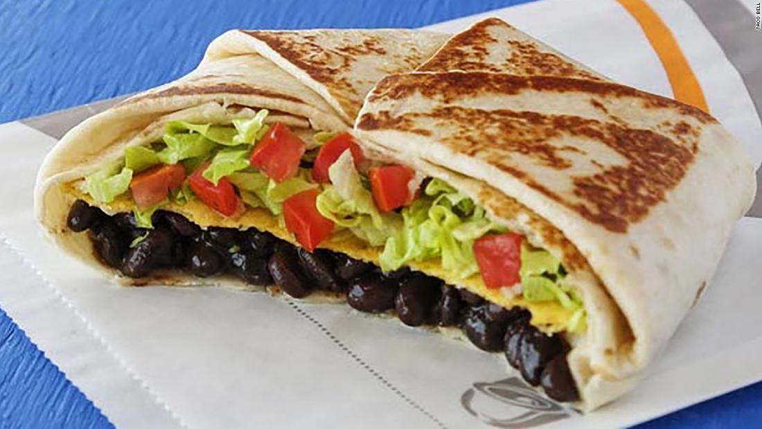 Taco Bell now has a vegetarian menu