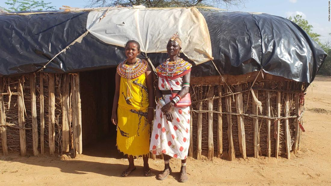 The community in Kenya where women rule and men are banned