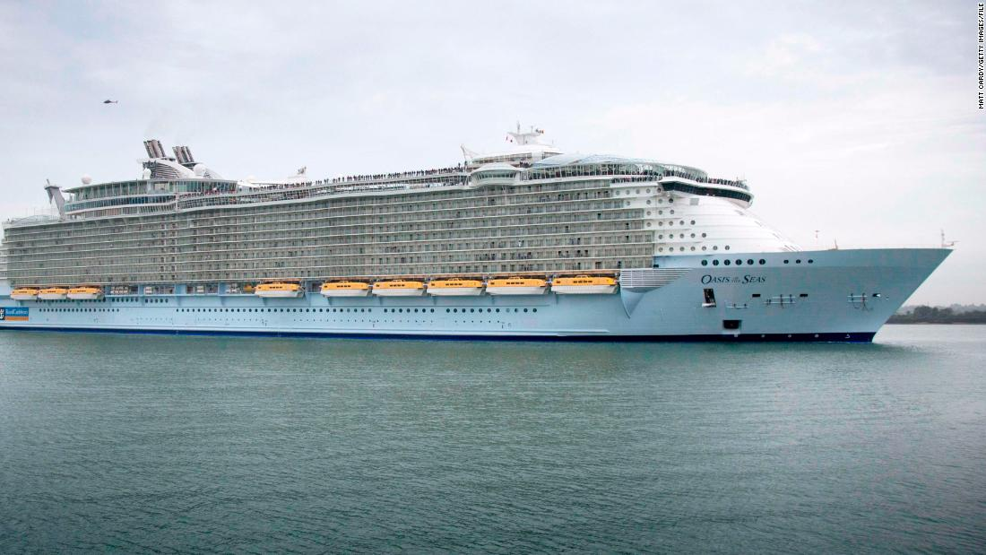 Cruise cut short after hundreds of passengers get sick on Royal Caribbean ship